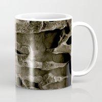 utah Mugs featuring Utah Texture by Artwork by Brie