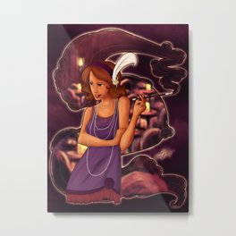 Undercover Widow Metal Print