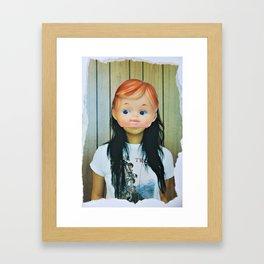 Kewpie Girl Framed Art Print