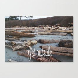 Get Outside in the UpperLeftUSA Canvas Print