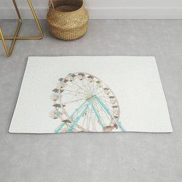 Ferris Wheel Abstract Rug