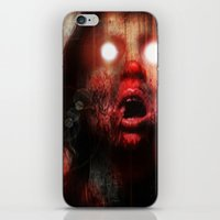 gore iPhone & iPod Skins featuring The Duchess of Gore by Dead4U