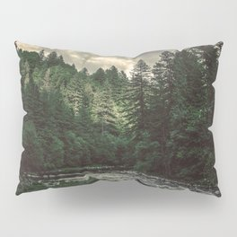 Pacific Northwest River - Nature Photography Pillow Sham