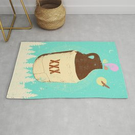 FOREST MOONSHINE Rug