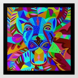 Caballero Jaguar Art Print