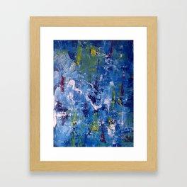 Ice Fall Framed Art Print