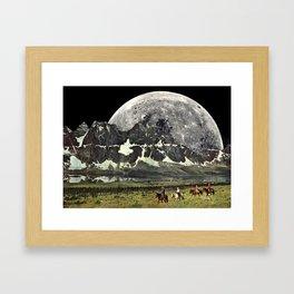 Mountains of Montanya Framed Art Print
