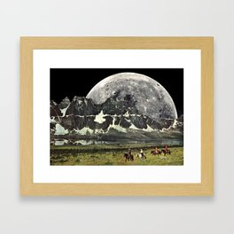 Mountains of Montanya Framed Art Print