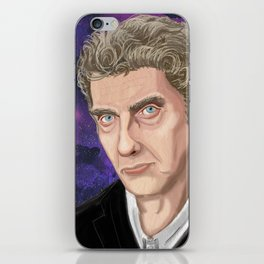 Peter Capaldi - Doctor Who iPhone Skin