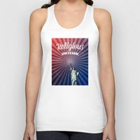 religious Tank Tops featuring Religious Liberty by politics