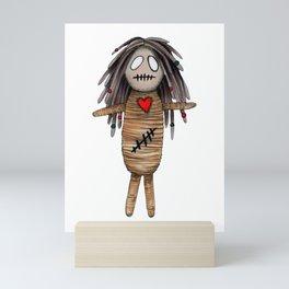 """VoodoDoll """"She"""" Mini Art Print"""