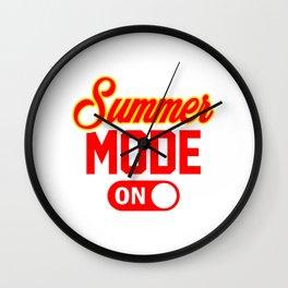 Summer Mode ON yr Wall Clock