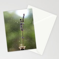 A Pair of Lavender Flowers Stationery Cards