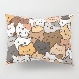 Full Cats Pillow Sham