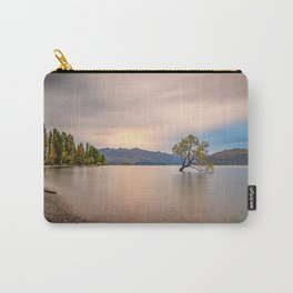 WANAKA TREE SUNSET NEW ZEALAND Carry-All Pouch