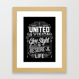 United Invision Framed Art Print