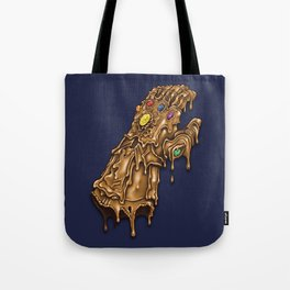 Melted Infinity Gauntlet Tote Bag