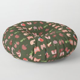 Go Organic Pattern Floor Pillow