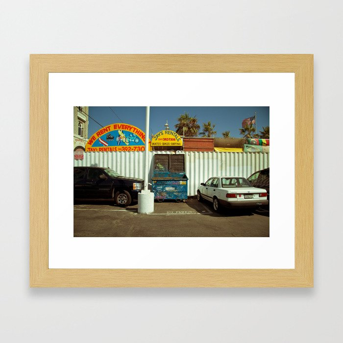 Carpark Framed Art Print