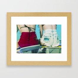 Bums Framed Art Print