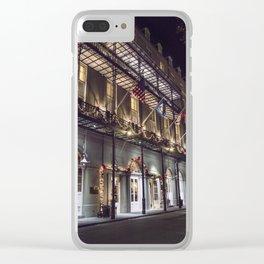 NOLA_53 Clear iPhone Case