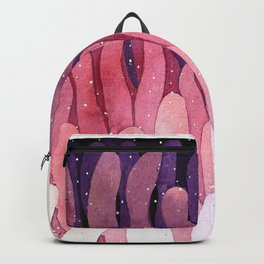 pink tentacles Backpack