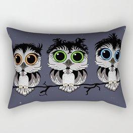 Three Little Owls Rectangular Pillow