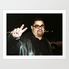 Heavy D & the Boyz - BLM - Hip Hop - Society6 - Dwight Arrington Myers qq23 Art Print