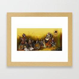 Monkeys Framed Art Print
