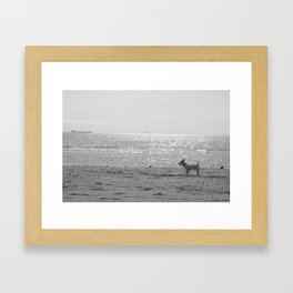 I am the Sea Framed Art Print