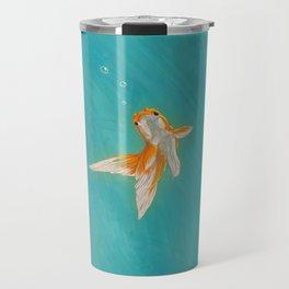 Goldfish in the ocean Travel Mug