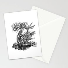 FASTER! Stationery Cards