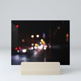 Bubbles of Light in the Night, A Mini Art Print
