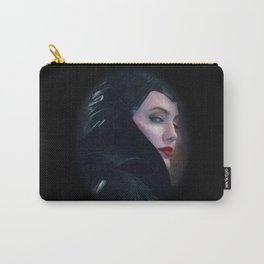 Maleficent in Oil / Sleeping Beauty Carry-All Pouch