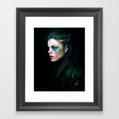 Octavia Blake - The 100 Framed Art Print