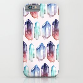 Crystals iPhone Case