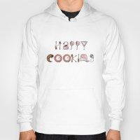 cooking Hoodies featuring Happy Cooking by Mariya Olshevska