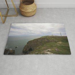 Irish cliffs Rug