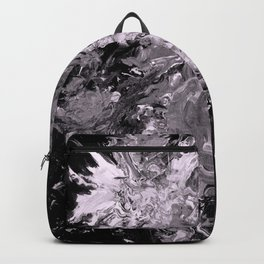Blooms, monochrome Backpack