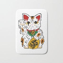 Melting Maneki Neko Lucky Cat Bath Mat
