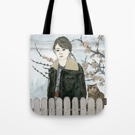 Early Spring Walk Tote Bag