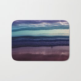 Abstract Sunrise Bath Mat