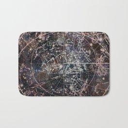 Celestial Charts II Bath Mat