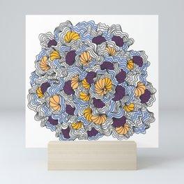 Being a Little Shellfish Mini Art Print