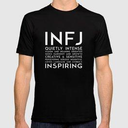 INFJ (black version) T-shirt