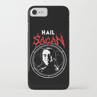 carl sagan iPhone & iPod Cases featuring HAIL SAGAN by Normal-Sized Deet