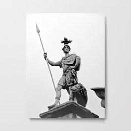 Guarding Dublin Castle Metal Print