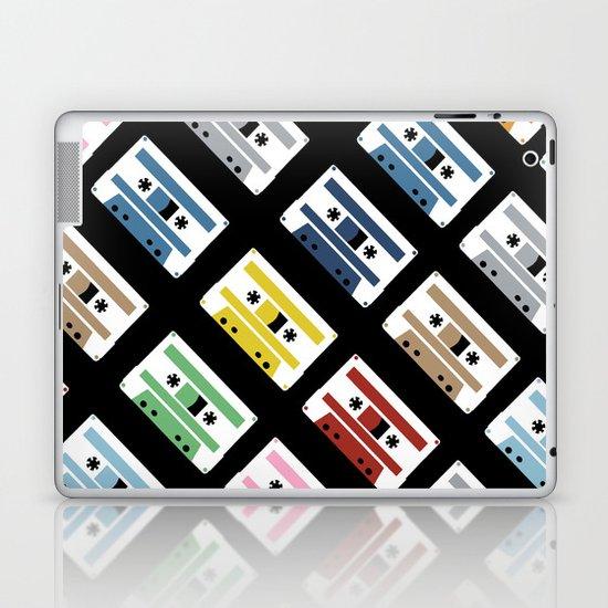 Rainbow Tapes 45 Laptop & iPad Skin