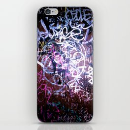 Bathroom Graffiti II iPhone Skin