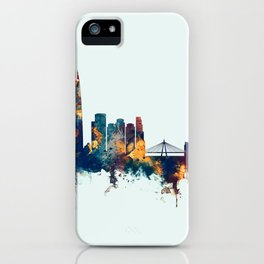 Seoul Skyline South Korea iPhone Case